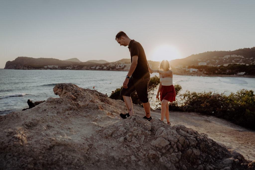 Couple shoot Mallorca